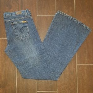 Truck Jeans Flare BootCut LONG Size 15/33 USA made